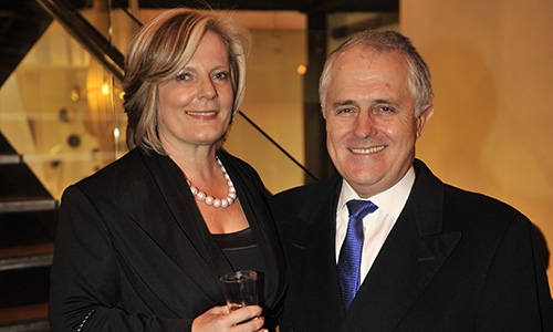 Malcolm and Lucy Turnbull - Sydney Children's Hospital Foundation