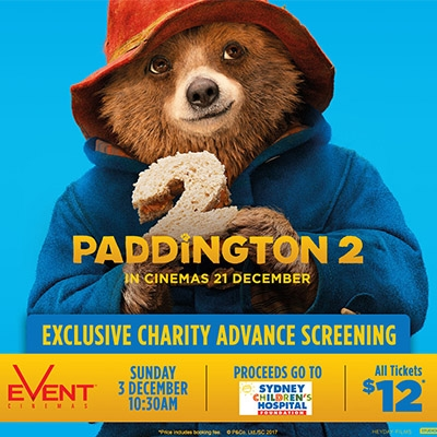 Paddington 2 charity screening