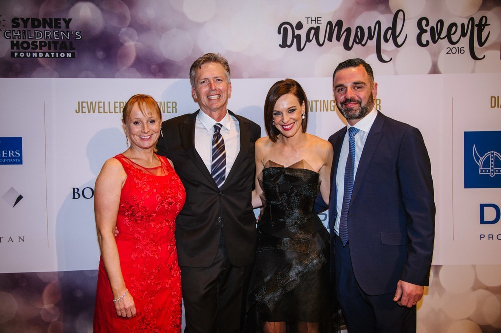 Nicola Stokes and guests at The Diamond Event