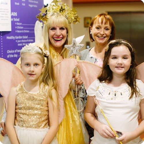 Nicola Stokes and Fairy Sparkle at Gold Day 2017