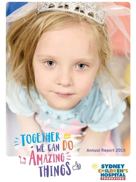 Annual report 2014-2015 - Sydney Children's Hospital Foundation