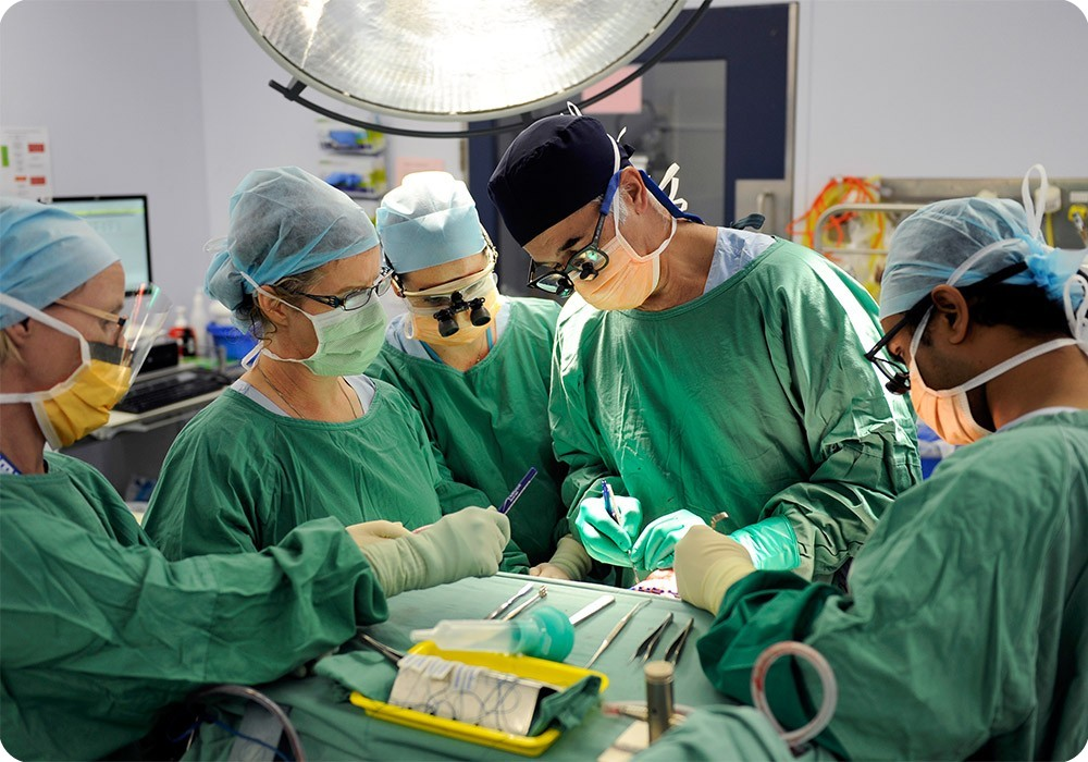 Surgeons at work - Sydney Children's Hospital Foundation