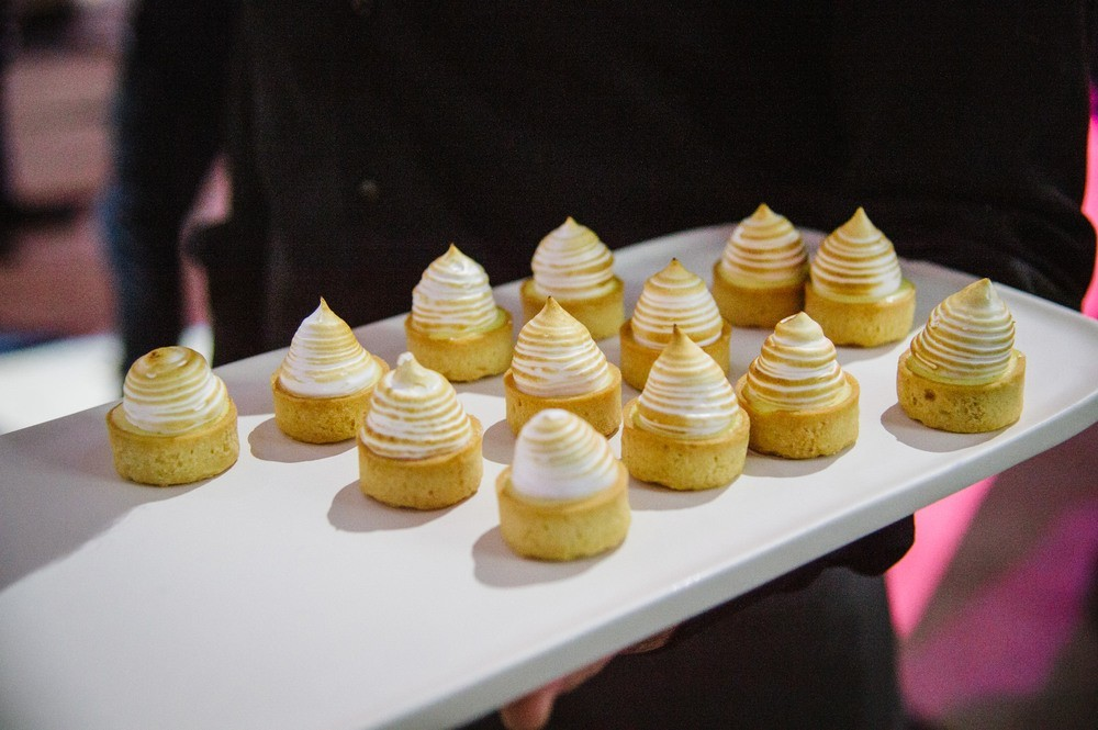 Canapés being served at The Diamond Event
