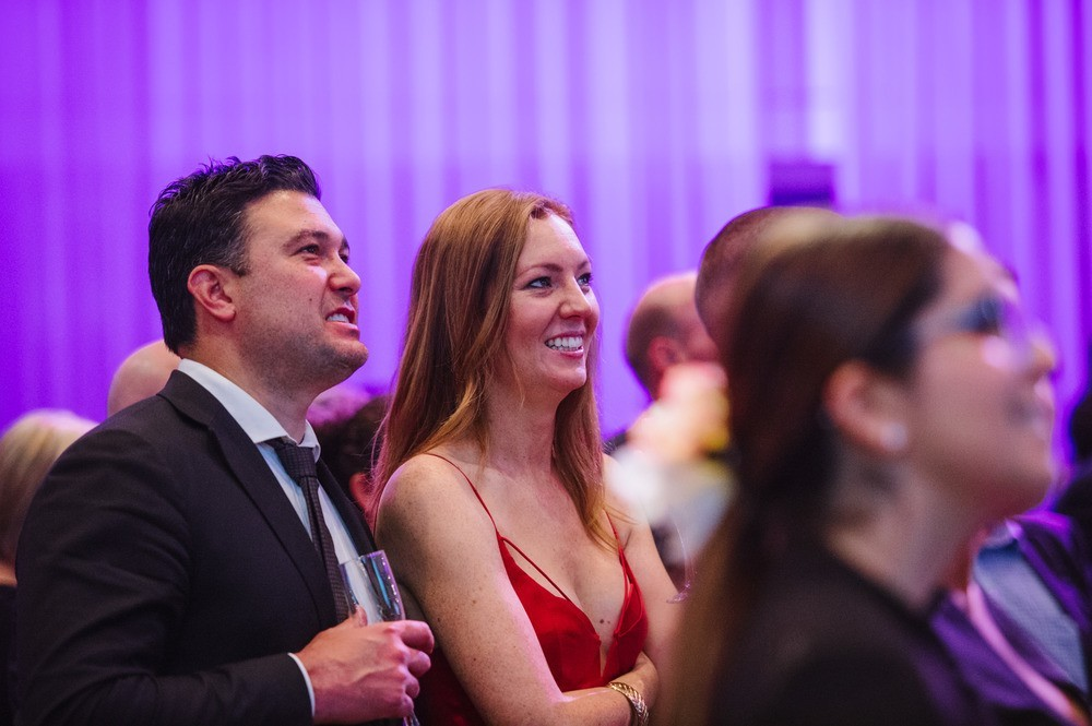 Guests listening to event speakers - Sydney Children's Hospital Foundation