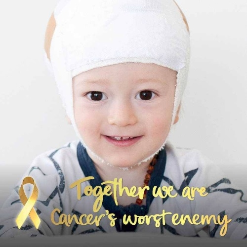 Watch the Sydney Opera House Go Gold for Childhood Cancer Awareness Month