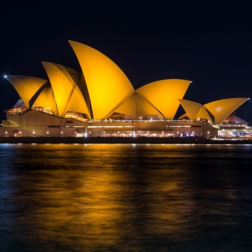 Watch the Sydney Opera House turn gold for Kids with Cancer